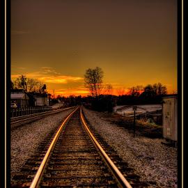by Peter Michael - Transportation Railway Tracks