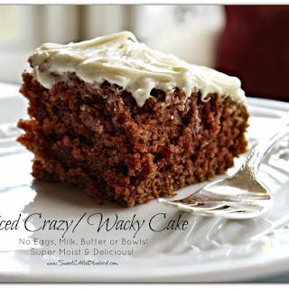 Wacky Cake Spice Recipes