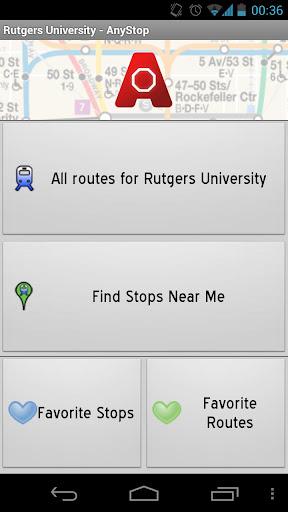 Rutgers University: AnyStop
