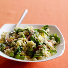 Green Summer Risotto