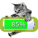 Kitten Battery Widget icon