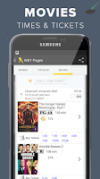Screenshot of White & Yellow Pages
