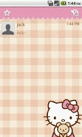Screenshot of Handcent Skin (Hello Kitty)