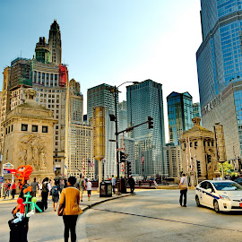 chicago by Moe Masrour - Buildings & Architecture Architectural Detail