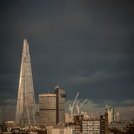 The Shard by Florentin Purcarea - Buildings & Architecture Other Exteriors ( tower, skyscrapper, london, cityscape )