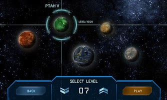 Screenshot of Solar Defence Lite