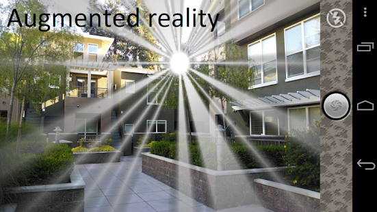 Sunny Day Augmented Reality - screenshot