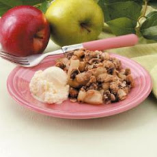 Sweet Apple Crumble