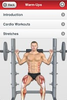 Screenshot of Muscle Building - Arms & Legs