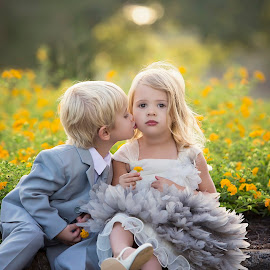 Innocence by Dawn Veen - Babies & Children Toddlers ( love, girl, backlight, boy, style model )