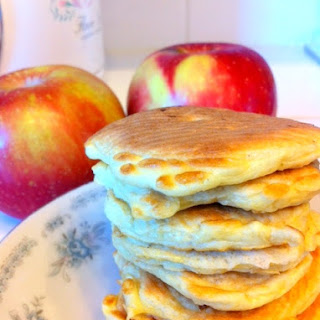Apple Cinnamon Protein Pancake