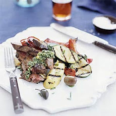Grilled Leg of Lamb with Mint Gremolata