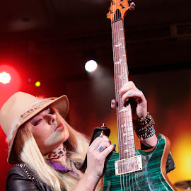 Orianthi by Dean Mayo - People Musicians & Entertainers ( electric, guitarist, rock and roll, guitar, orianthi, musician )