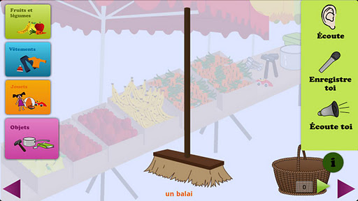 Mon Marché-Learn french words