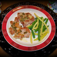 Pork Scallopini With Butter Caper Sauce