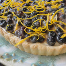 Lemon Cloud Winter Berry Tart