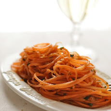Carrot Salad with balsamic dressing
