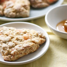 Honeyed Grapefruit Oat Scones