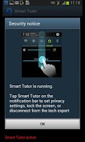 Screenshot of Smart Tutor for SAMSUNG Mobile