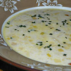Leek, Potato, and Tarragon Soup