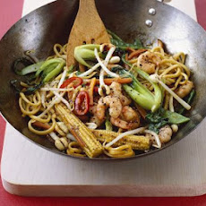 Peppery Prawn Noodles