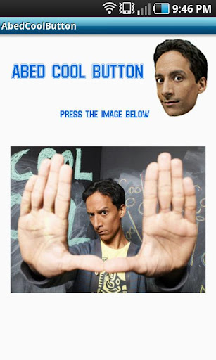 Abed Cool Button