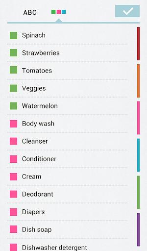 Grocery List Buy Me a Pie! - screenshot