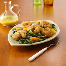 Chiarello's Crispy Seafood Salad With Citrus Vinaigrette