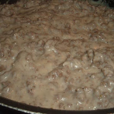 Nana's Favorite Hamburger Gravy