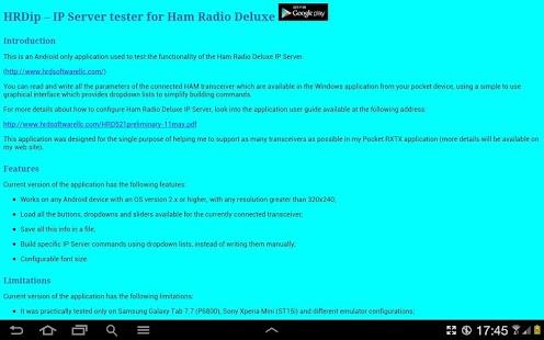 cannot delete ham radio deluxe application