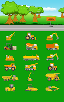 Screenshot of Construction Cars Free