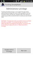 Screenshot of Tracking Smartphone