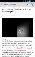 Screenshot of Reddit Illustrated