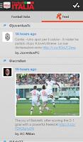 Screenshot of Football Italia