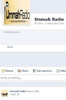 Screenshot of Ummah Radio