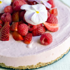 Frozen Raspberry Cheesecakes