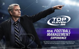 Screenshot of Top Eleven Be a Soccer Manager