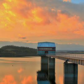 Slezska Harta  by Michal Valenta - Landscapes Sunsets & Sunrises