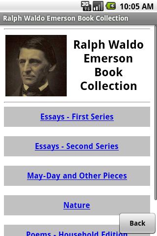 Ralph Waldo Emerson Collection