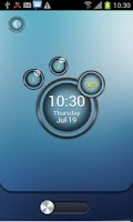 Screenshot of Bubble MagicLocker theme