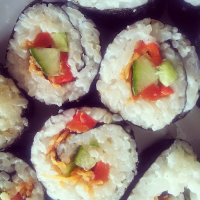 Simple Vegetable Sushi