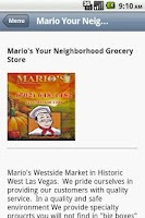 Screenshot of Mario's -  Market and Grocery
