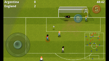 Screenshot of Striker Soccer