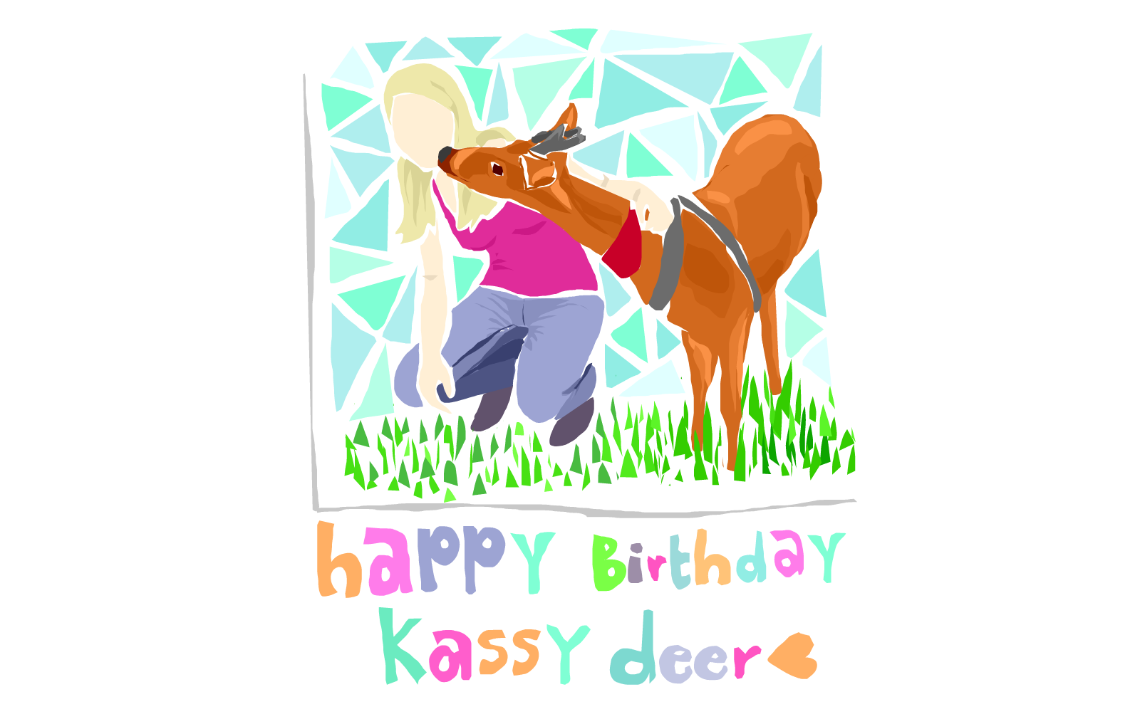 Happy birthday Kassy :D
