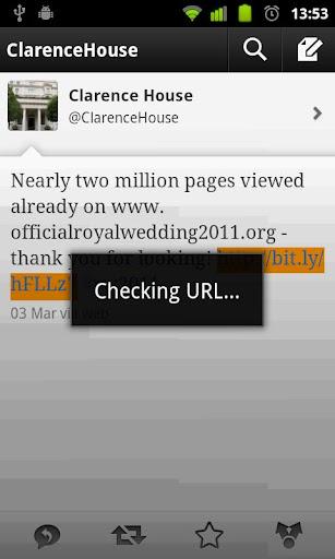 Check Web Redirect