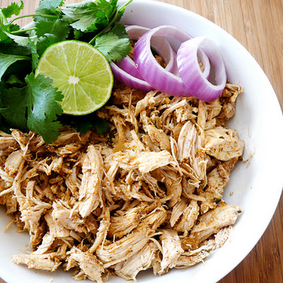 Shredded Tex-Mex Crock-Pot Chicken