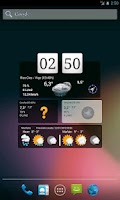 Screenshot of Widgets Meteo Galicia
