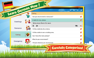 Screenshot of Learn German