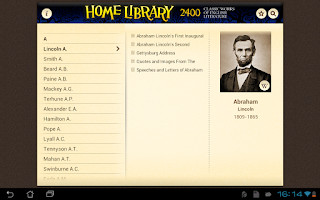 Screenshot of Home Library