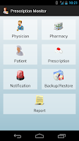 Screenshot of Prescription Monitor Free